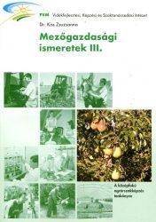 Mezőgazdasági ismeretek III.