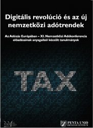 Digitális revolúció és az új nemzetközi adótrendek